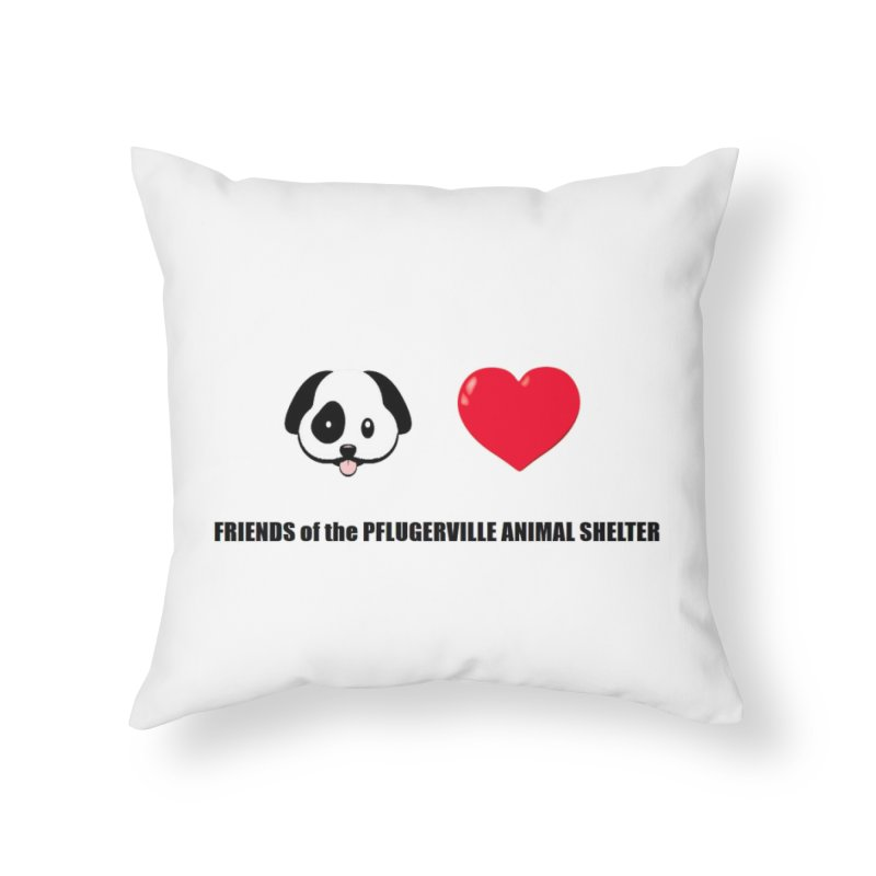Puppy Love Home Throw Pillow by FPAS's Artist Shop
