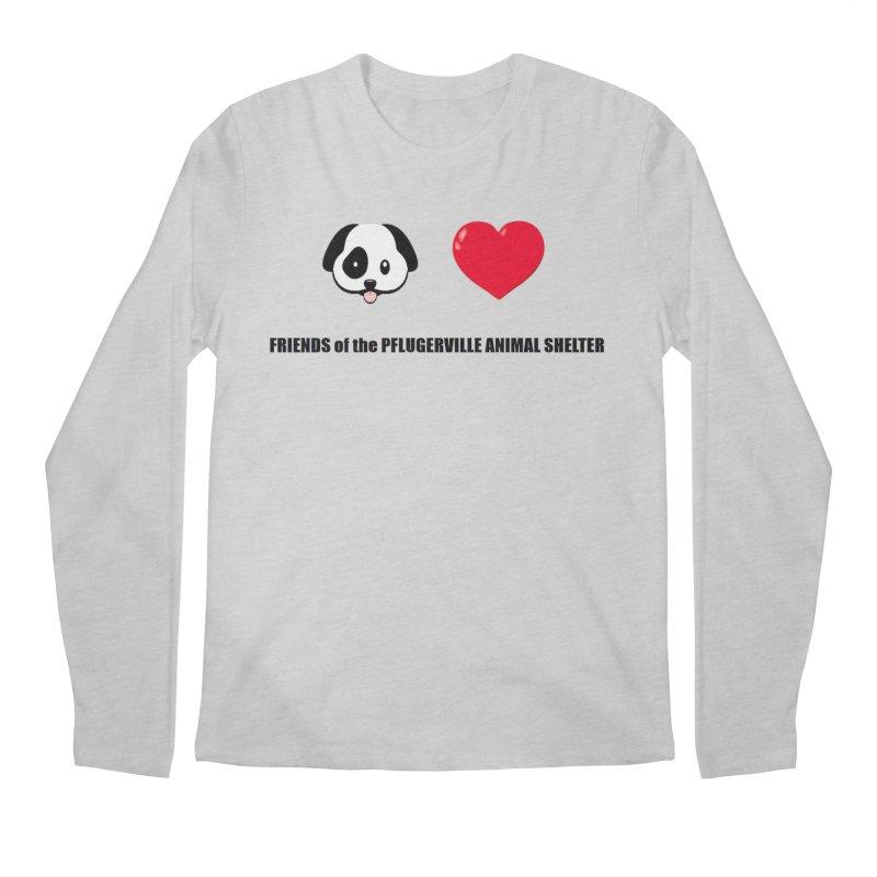 Puppy Love Men's Longsleeve T-Shirt by FPAS's Artist Shop