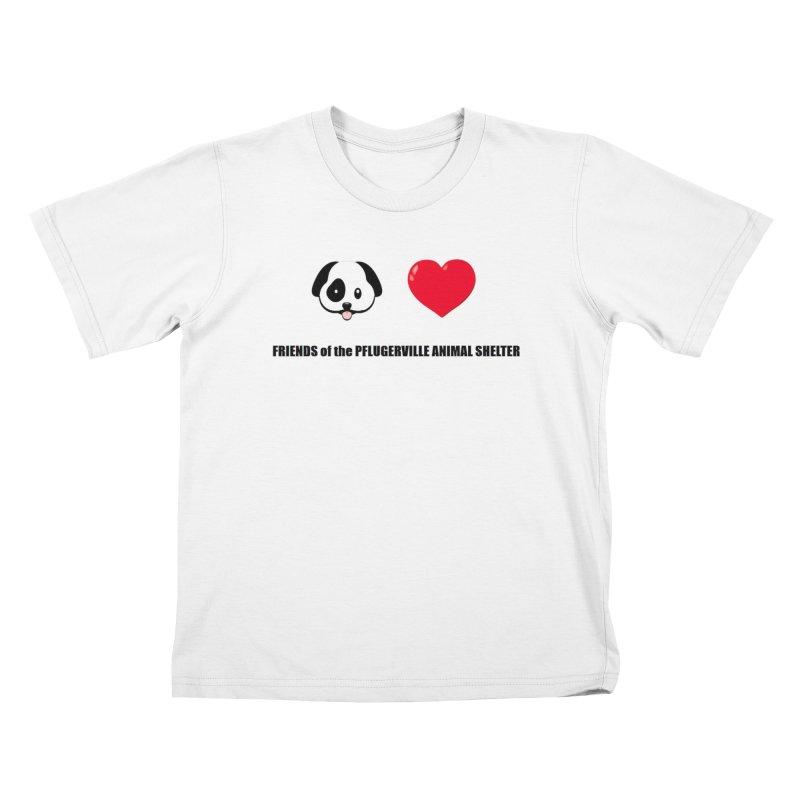 Puppy Love Kids T-Shirt by FPAS's Artist Shop