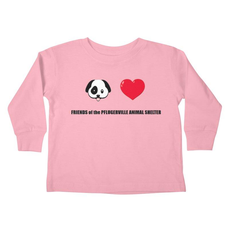 Puppy Love Kids Toddler Longsleeve T-Shirt by FPAS's Artist Shop