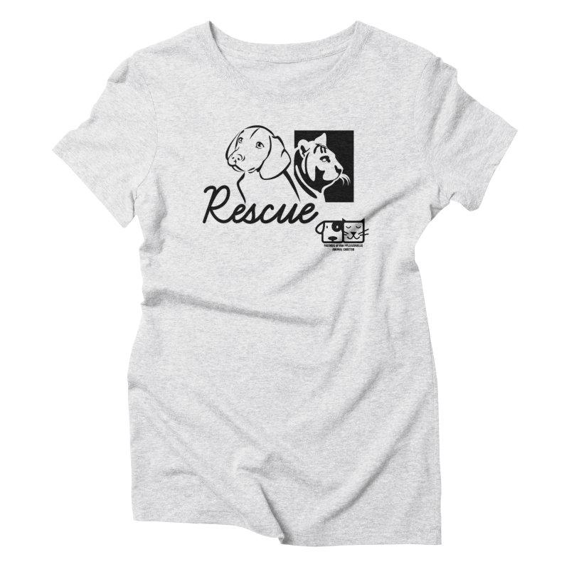 Rescue Women's T-Shirt by FPAS's Artist Shop