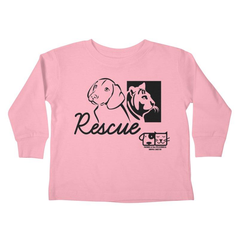 Rescue Kids Toddler Longsleeve T-Shirt by FPAS's Artist Shop