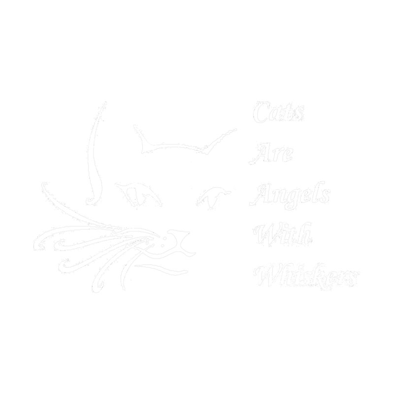 Cats are angels with wings White for darker colored shirts Women's Tank by FPAS's Artist Shop