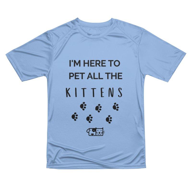 Pet the Kittens Men's T-Shirt by FPAS's Artist Shop