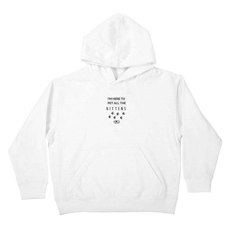 Pet the Kittens Kids Pullover Hoody by FPAS's Artist Shop