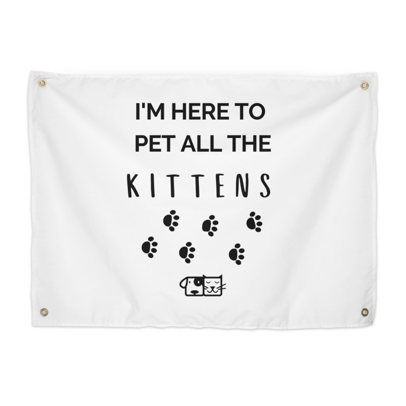 Pet the Kittens Home Tapestry by FPAS's Artist Shop