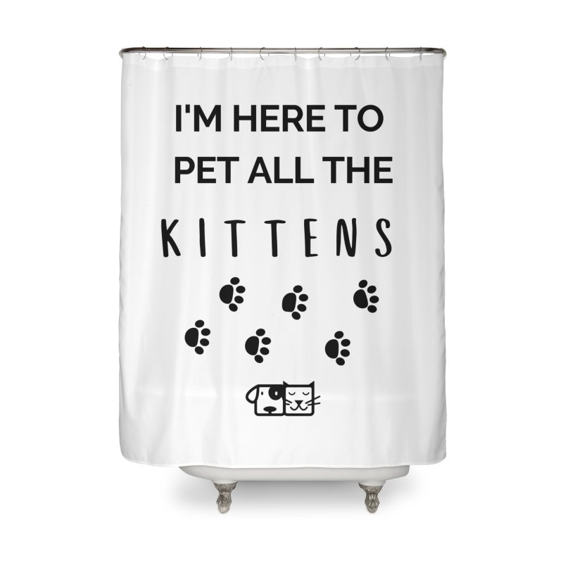 Pet the Kittens Home Shower Curtain by FPAS's Artist Shop