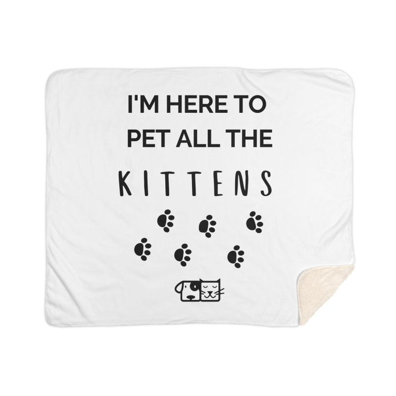 Pet the Kittens Home Blanket by FPAS's Artist Shop