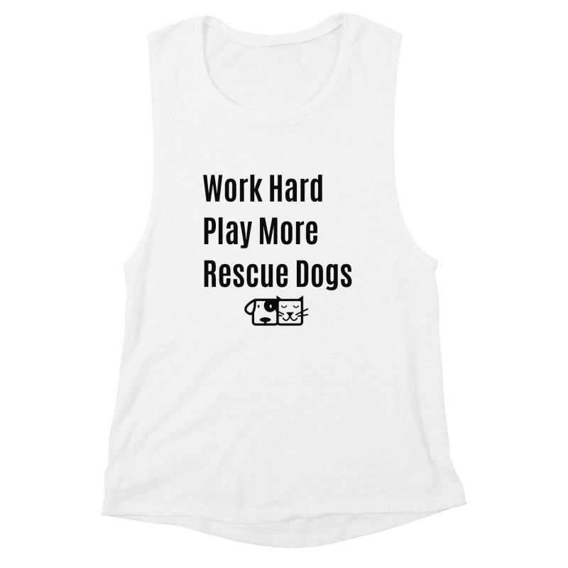 Work Hard Women's Tank by FPAS's Artist Shop
