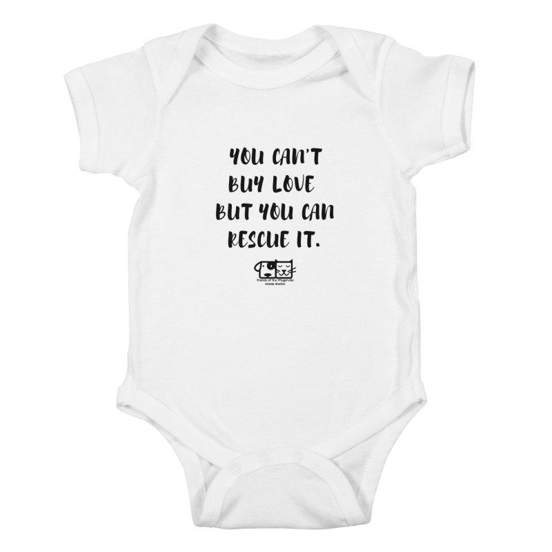 Can't Buy Love Kids Baby Bodysuit by FPAS's Artist Shop