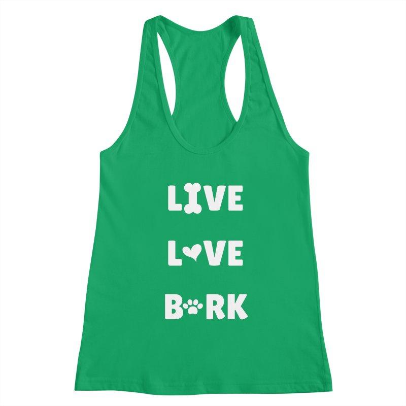 Live Love Bark Women's Tank by FPAS's Artist Shop