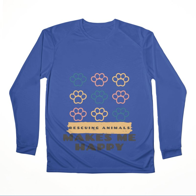 Rescuing Animals Men's Longsleeve T-Shirt by FPAS's Artist Shop