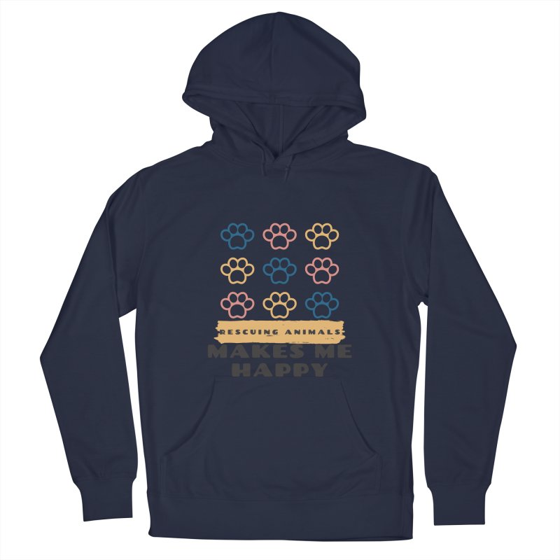 Rescuing Animals Men's Pullover Hoody by FPAS's Artist Shop
