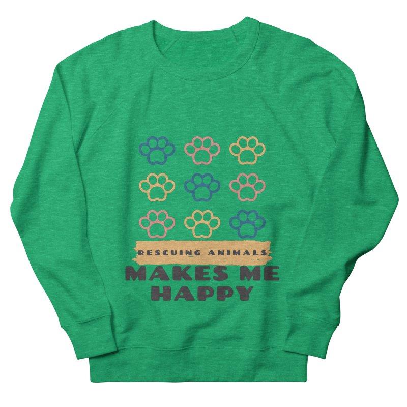 Rescuing Animals Women's Sweatshirt by FPAS's Artist Shop