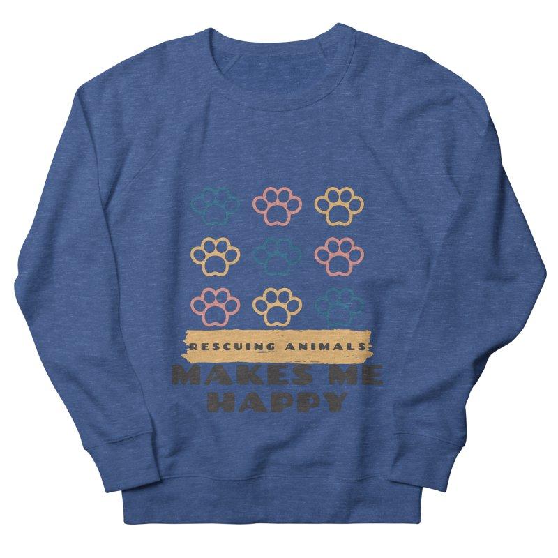 Rescuing Animals Men's Sweatshirt by FPAS's Artist Shop