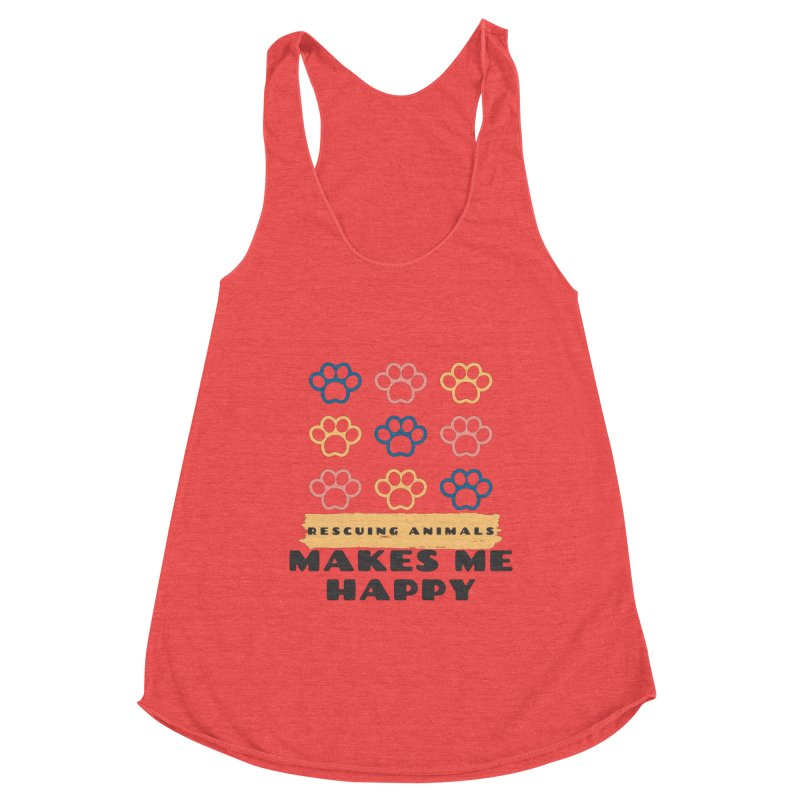 Rescuing Animals Women's Tank by FPAS's Artist Shop