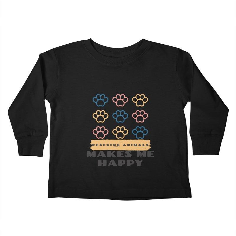 Rescuing Animals Kids Toddler Longsleeve T-Shirt by FPAS's Artist Shop