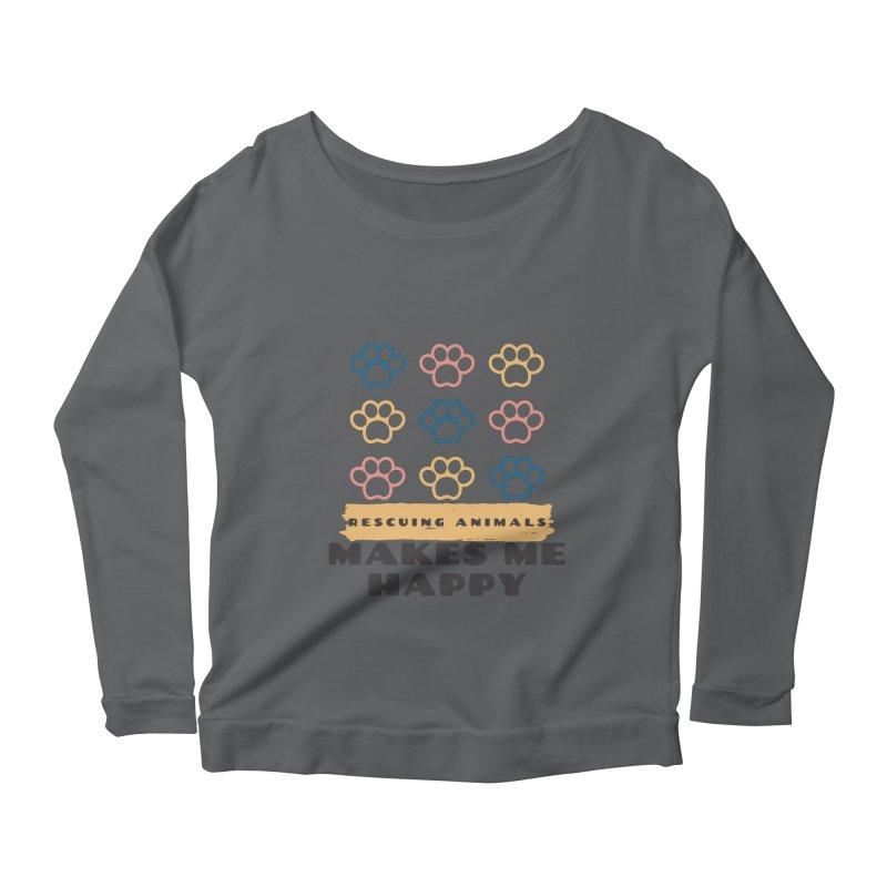 Rescuing Animals Women's Longsleeve T-Shirt by FPAS's Artist Shop