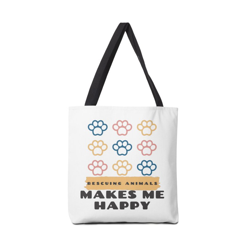 Rescuing Animals Accessories Bag by FPAS's Artist Shop
