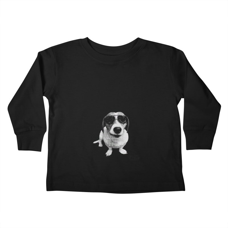 My Dog Thinks I'm Cool - Cooper Kids Toddler Longsleeve T-Shirt by FPAS's Artist Shop