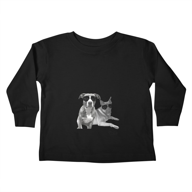 My Dogs Think I'm Cool - Behrens Kids Toddler Longsleeve T-Shirt by FPAS's Artist Shop