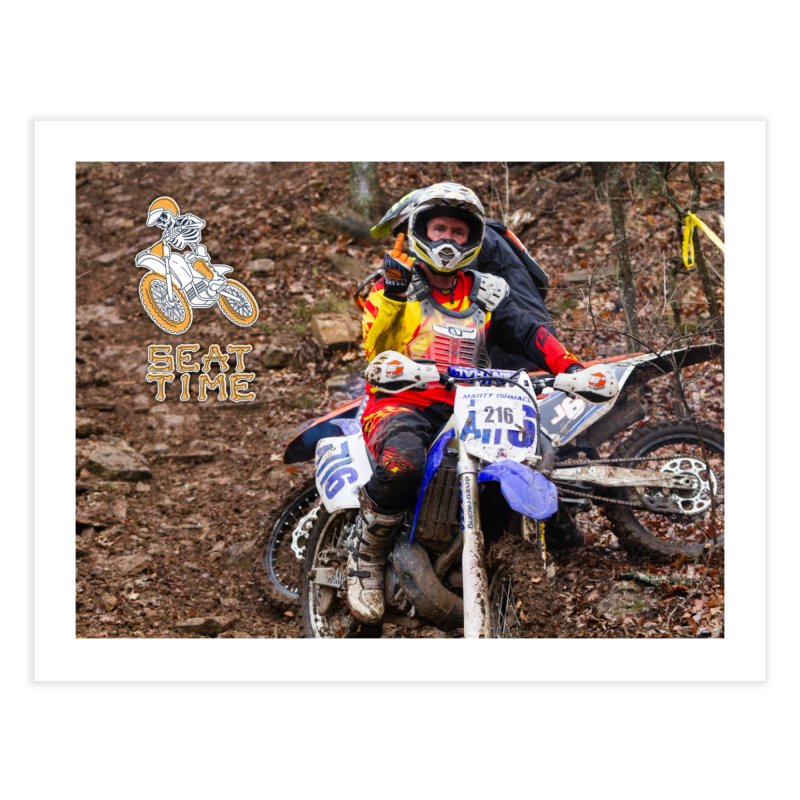 Dirt Bikers with Attitude Home Fine Art Print by Full Pint Media Group's Shop