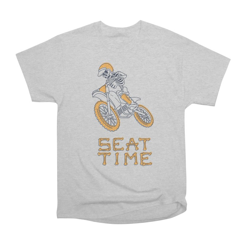 Seat Time Skeleton Women's T-Shirt by Full Pint Media Group's Shop