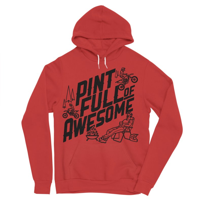 Pint Full Of Awesome - Campfire Women's Pullover Hoody by Full Pint Media Group's Shop