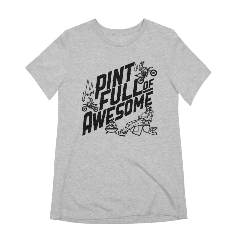 Pint Full Of Awesome - Campfire Women's Extra Soft T-Shirt by Full Pint Media Group's Shop