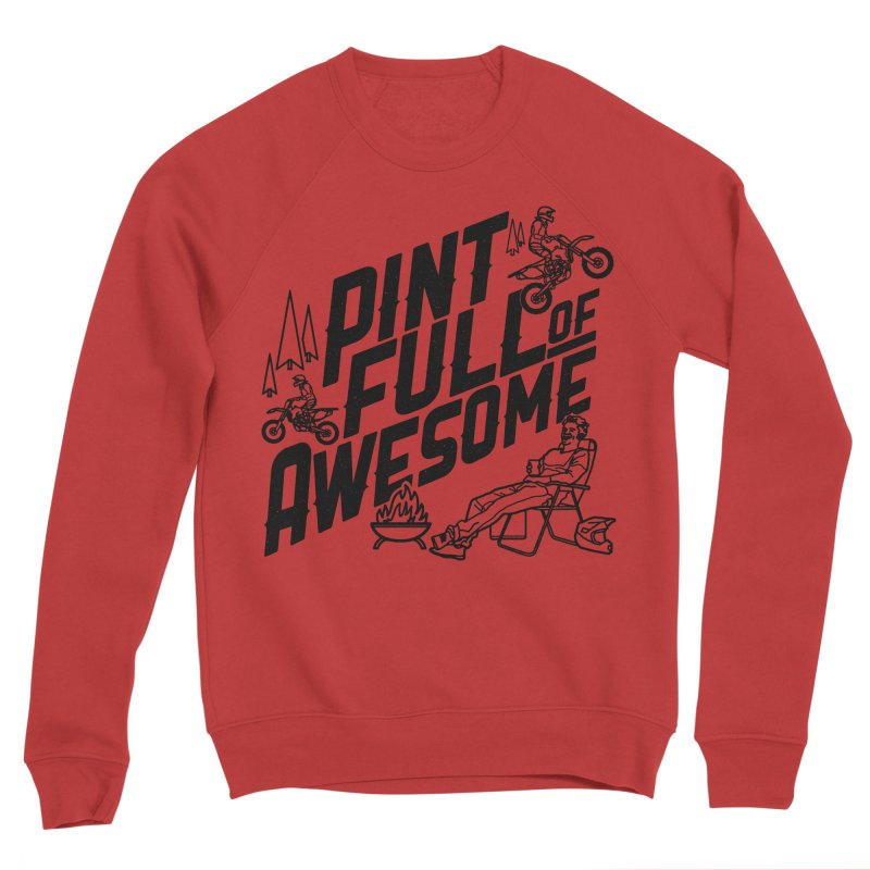 Pint Full Of Awesome - Campfire Women's Sweatshirt by Full Pint Media Group's Shop