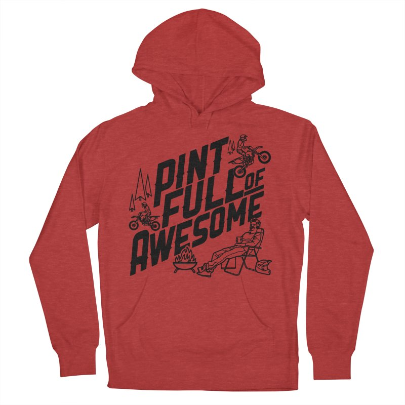 Pint Full Of Awesome - Campfire Men's Pullover Hoody by Full Pint Media Group's Shop