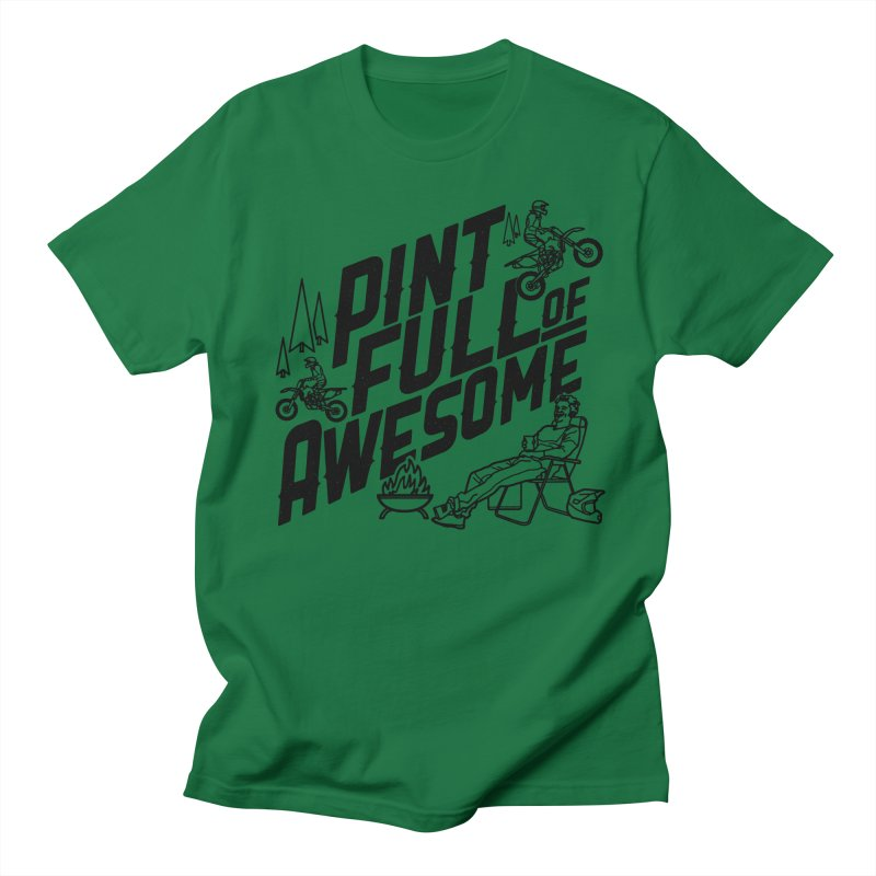 Pint Full Of Awesome - Campfire Women's Regular Unisex T-Shirt by Full Pint Media Group's Shop