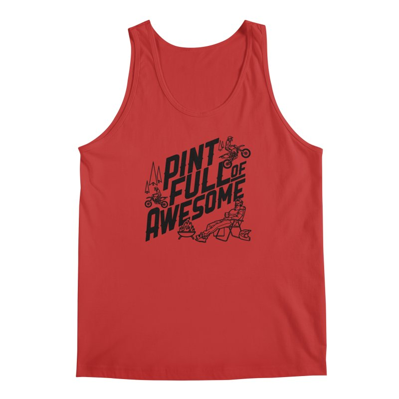 Pint Full Of Awesome - Campfire Men's Regular Tank by Full Pint Media Group's Shop