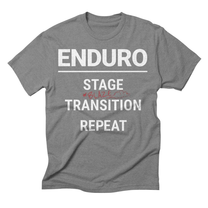 The Rules of Enduro - Blaze Men's Triblend T-Shirt by Full Pint Media Group's Shop