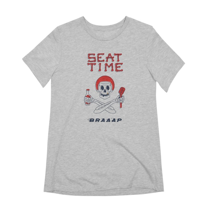 Vintage Skeleton V2 | BRAAAP Women's T-Shirt by Full Pint Media Group's Shop