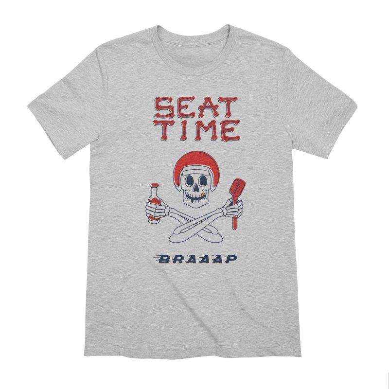 Vintage Skeleton V2   BRAAAP Men's T-Shirt by Full Pint Media Group's Shop