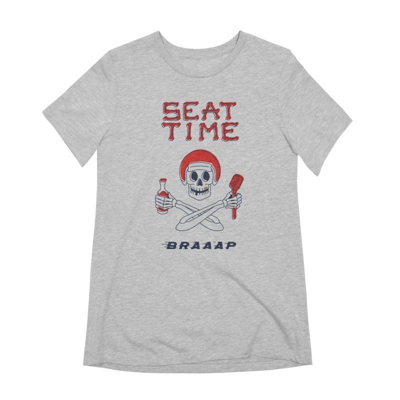 Vintage Skeleton V2 | BRAAAP Women's Extra Soft T-Shirt by Full Pint Media Group's Shop