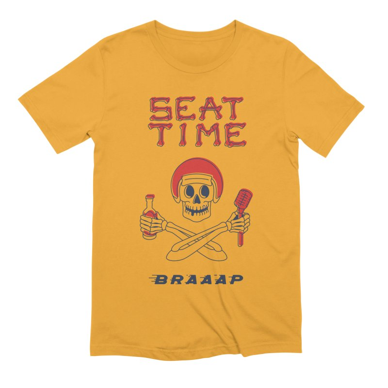 Vintage Skeleton V2 | BRAAAP Men's Extra Soft T-Shirt by Full Pint Media Group's Shop