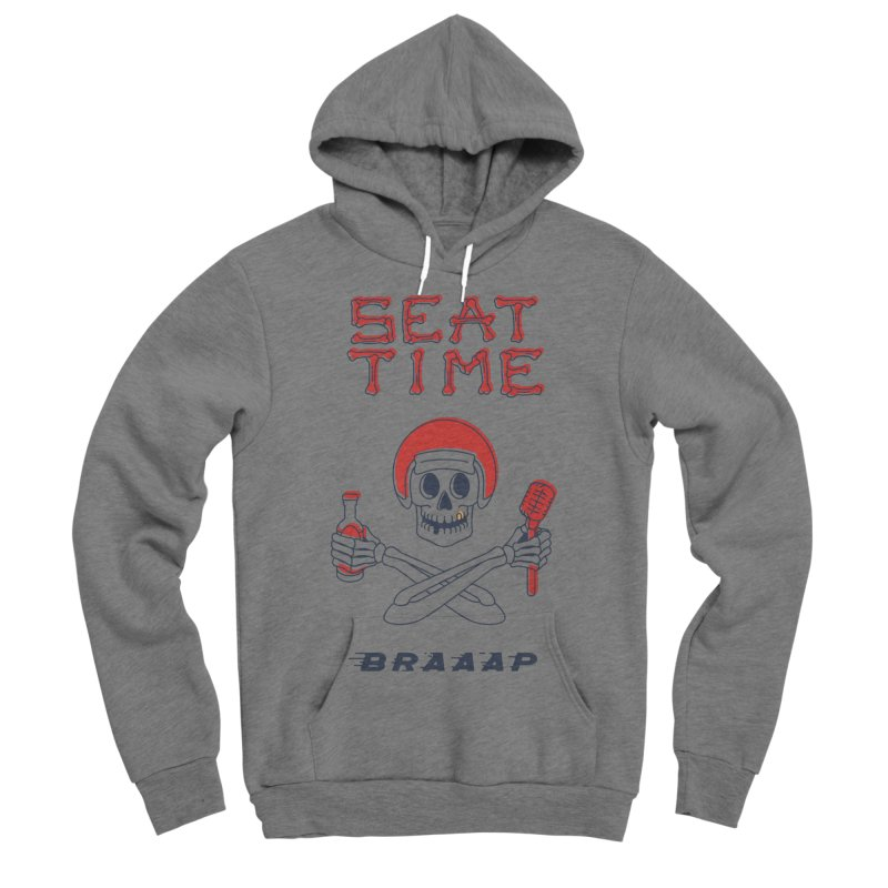 Vintage Skeleton V2 | BRAAAP Women's Pullover Hoody by Full Pint Media Group's Shop