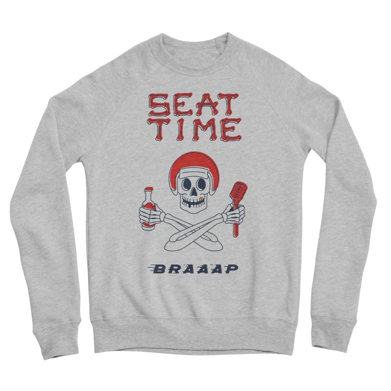 Vintage Skeleton V2 | BRAAAP Men's Sweatshirt by Full Pint Media Group's Shop