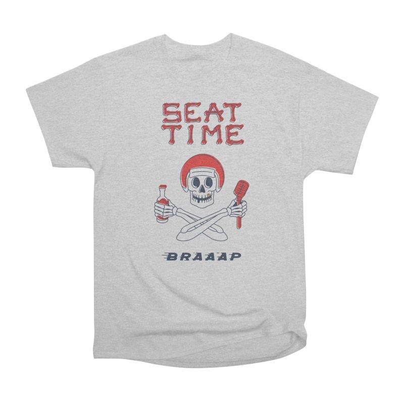 Vintage Skeleton V2 | BRAAAP Men's T-Shirt by Full Pint Media Group's Shop
