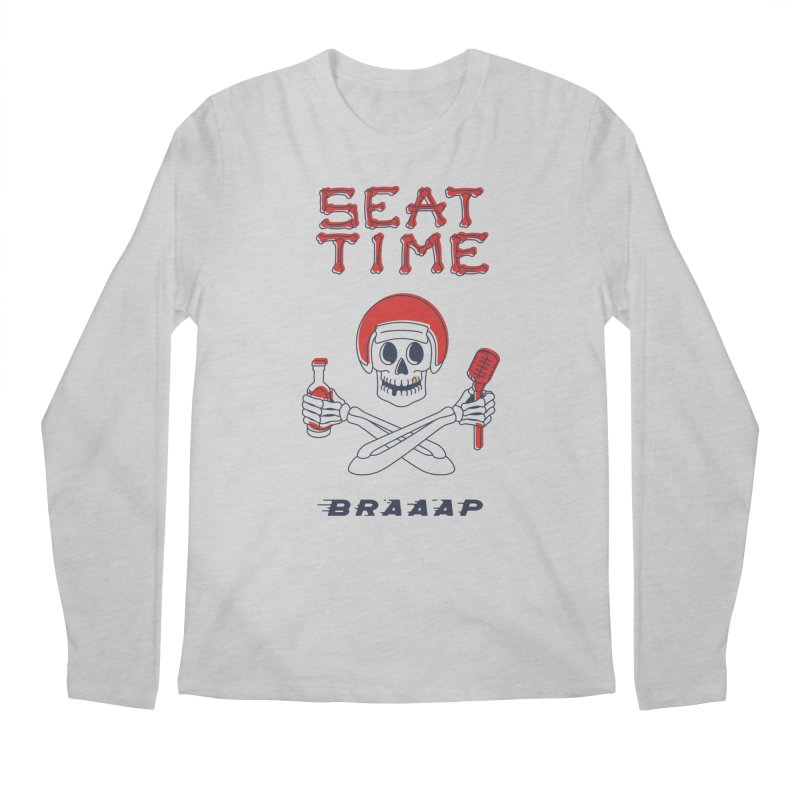 Vintage Skeleton V2 | BRAAAP Men's Longsleeve T-Shirt by Full Pint Media Group's Shop