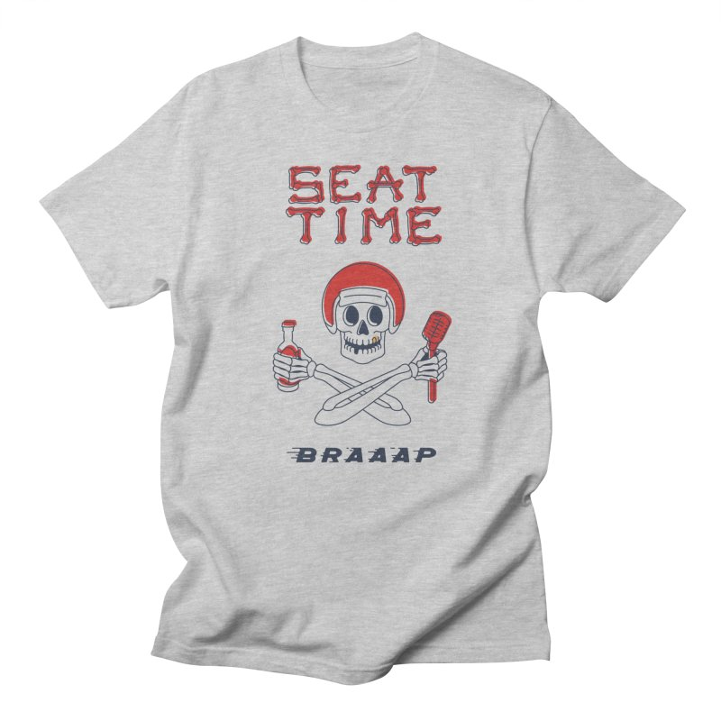 Vintage Skeleton V2 | BRAAAP Men's T-Shirt by Full Pint Media Group's Shop