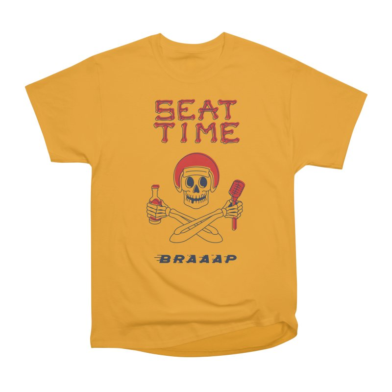Vintage Skeleton V2 | BRAAAP Men's Heavyweight T-Shirt by Full Pint Media Group's Shop