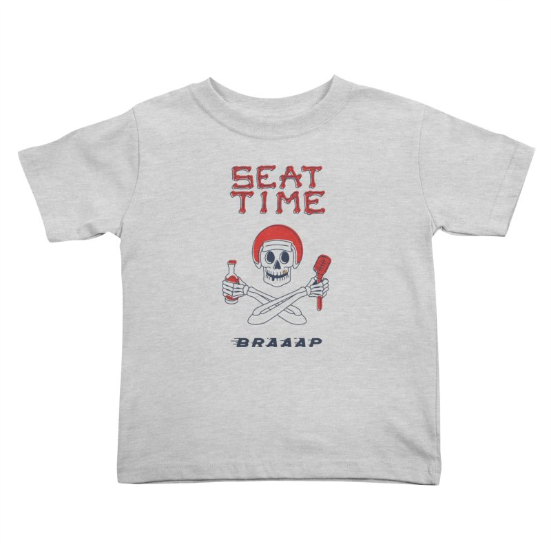 Vintage Skeleton V2 | BRAAAP Kids Toddler T-Shirt by Full Pint Media Group's Shop