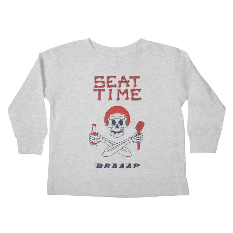 Vintage Skeleton V2 | BRAAAP Kids Toddler Longsleeve T-Shirt by Full Pint Media Group's Shop