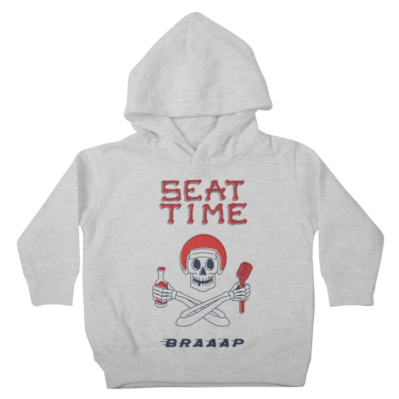 Vintage Skeleton V2 | BRAAAP Kids Toddler Pullover Hoody by Full Pint Media Group's Shop