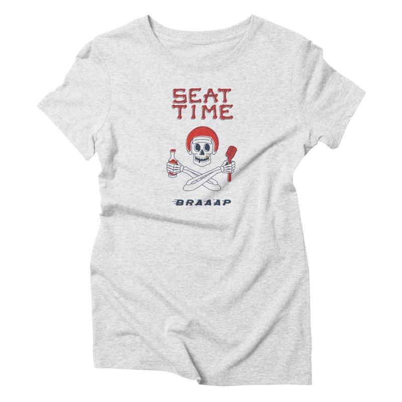Vintage Skeleton V2   BRAAAP Women's T-Shirt by Full Pint Media Group's Shop
