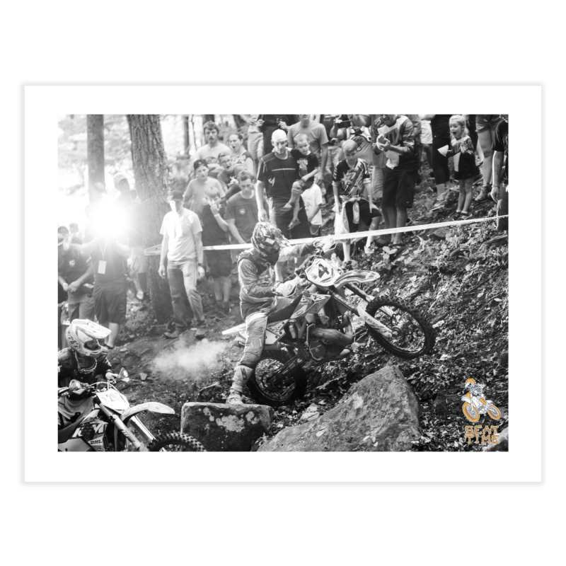 Jordan Ashburn - Tennessee Knock Out - Black and White Home Fine Art Print by Full Pint Media Group's Shop
