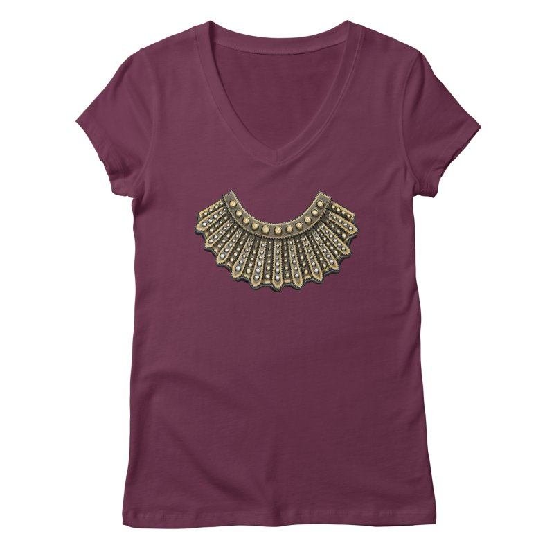 Dissent RBG Style Women's V-Neck by Dissent in Style